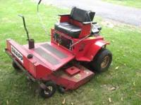 48 inch cut 18 hp twin cyclinder engine runs great new