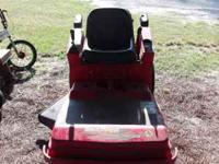 "This is a great mower! Joy stick Control,33"" cut Easy"