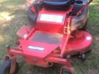 Have a 50 inch cut, 20 hp zero turn mower in good