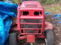 Older and very heavy duty tractor that is all there