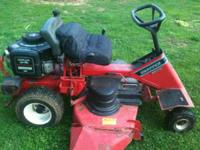 I have a snapper rear engine riding mower this rider