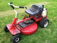 I have a Snapper Classic mower for sale. It's a rear