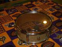 (1.)-Vintage 70's Japanese made snare drum - $140 -