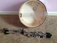 14 x 5.5 snare drum in excellent condition. Sounds