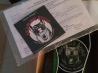 Snarling dogs Addicted to Wah Pedal. New in box with
