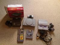 I have a super Nintendo(snes) for sale with all the