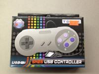 Super Nintendo USB Controller for PC/Mac Gaming. Cost: