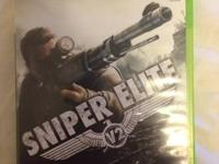 I am selling Sniper Elite v2, its in a good condition