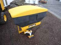 Sno-way 9 cu.ft. hitch mount salt spreader Durable