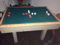 This snooker table has run out of room in our