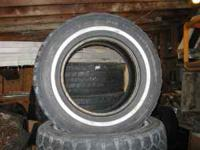 Set of 4 tires with real good tread. 215/75r15 Call
