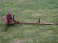 Massy Ferguson Snow blade, good shape. Email or call JD