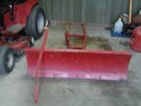 Wheel horse front snow blade attachment. $125.00 Sold
