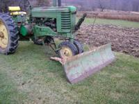 For Sale 7' Snow Blade off john deere A, Does not