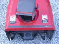 "Sears signature snow blower 5 hp 21"" cut , electric"