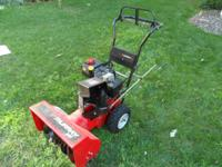 "22"" Murray Snow Blower for sale Works great runs like"