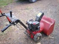 atlas 5hp blower runs moves tire chains 125 obo