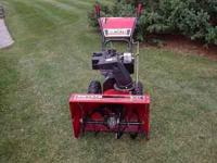 Estate Snowblower By Murray 8 HP 27 inch, Electric