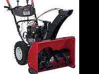 "Craftsman 250cc 28"" Inch Path Snow Blower -Received new"