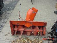 This is a 32 inch single stage snow blower for a