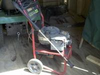 The snow blower is a Troy Built bought from lowes for
