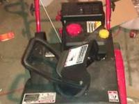 For Sale is a Troy Built Snow Sqaull 2100 Snow Blower.