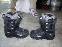 FOR SALE: SIZE 12 THIRTY TWO'S SNOW BOARD BOOTS