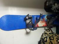 Snow board cheap branb is a ride catalyst 148 50$$ obo
