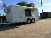 Snow Cone trailer 5x16 ft. with New Orleans shaver 2