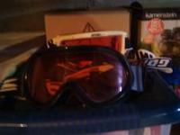I am selling two pairs of snow goggles. The pair in the