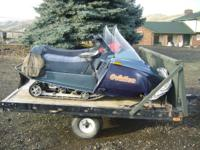 1989 YAMAHA'S IN GREAT CONDITION IN TIME FOR THE SNOW