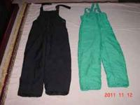 snow pants excellent condition size 14 childrens $6.00