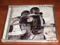 "I HAVE THE SNOW PATROL ""EYES OPEN"" CD FOR SALE, WITH"