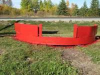 heavy duty 13 foot 11-2.5 inch solid steel snow plow