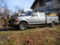 F-350 XL1997. 50K miles, 4/4 ,4 door,good studded