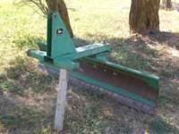 Snow plow, 6' John Deere in good condition. $500