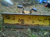 For sale is 1 Fisher plow with 4-way angle, in great