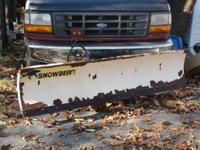 This SnowBear snow plow came off 93 F150 inside