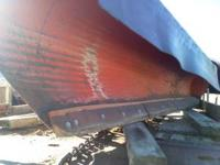 "Viking Snow PLow, model is 130M. Blade width 11' 4"" and"
