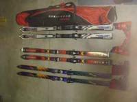 Volkl Vertigo skiis(size 178) Marker bindings super