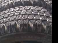 Great snow tires! Used 2 months! The tread is as new!