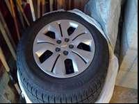 4 Falken Ice guard ig20 snow tires mounted on stock