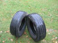 2 Firestone Steel Tex Lt 245/75R16 snow tires $75.00