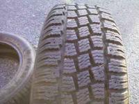 Snow tires brand new on for about 600 miles and have
