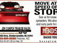The Boss Snowplows and Salt Spreaders Snow Ex Salt