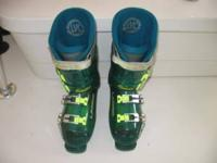 Women's size 8 LANGE Banshee XR boots. See through