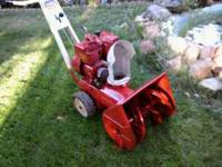 Snow will be here soon be ready! Montgomerey Wards 5hp.