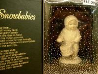 "Dept 56 Retired Snow Babies Drummer - ""Shall I Play for"