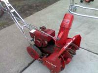 "TORO SNOWBLOW 20"" SNOWHOUND COMPLETELY CLEANED AND GONE"