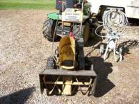 5 horse snowblower sears electric start hi&lo +reverce